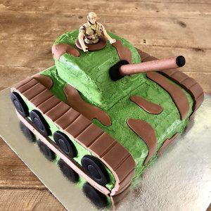 Army Tank Cake Kit Boys Birthday Cake Recipe Kit