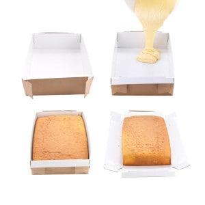 disposable baking box