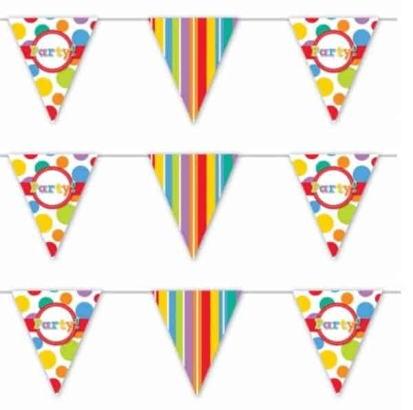 Specialty Bunting Rainbow Party