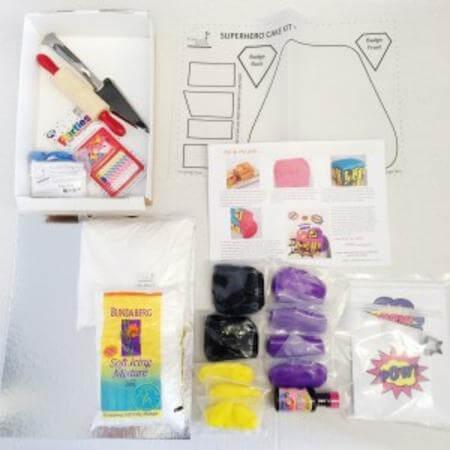 diy-Superhero-Girl-Birthday-Cake-Kit-Ingredients-450