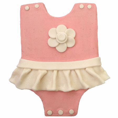 adorable baby grow girl baby shower cake DIY kit from Cake 2 The Rescue