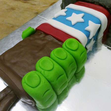 American Superhero kids birthday cake kit from Cake 2 The Rescue