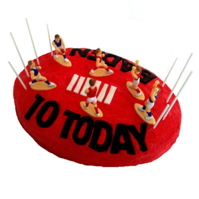 Aussie Rules Football Birthday Cake DIY Kit from Cake 2 The Rescue