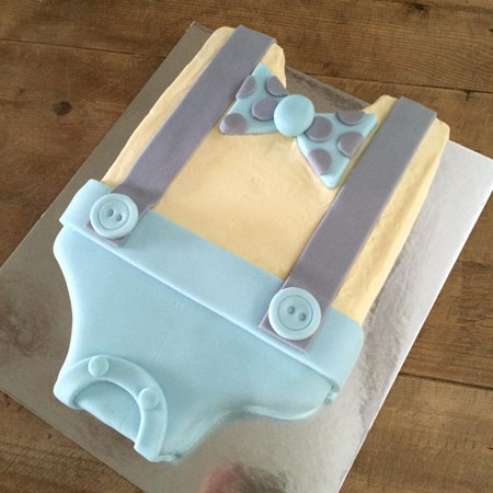 baby grow baby shower boy cake kit from Cake 2 The Rescue