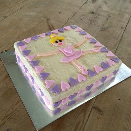 ballerina birthday cake diy cake kit Cake 2 The Rescue