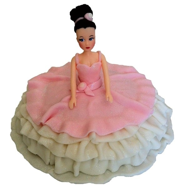 Ballerina Cake Kit Girls Birthday Cake Recipe Kit