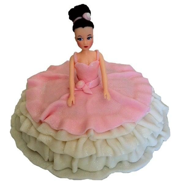 Ballerina Cake Kit Girls Birthday Cake Recipe Kit Decorating Kit