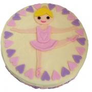 ballet cake kit butter icing 600