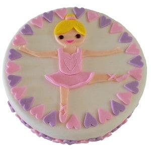ballet cake kit fondant 600