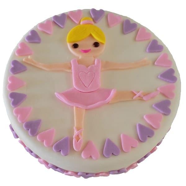 Ballet Cake Kit Girls Birthday Cake Recipe Kit
