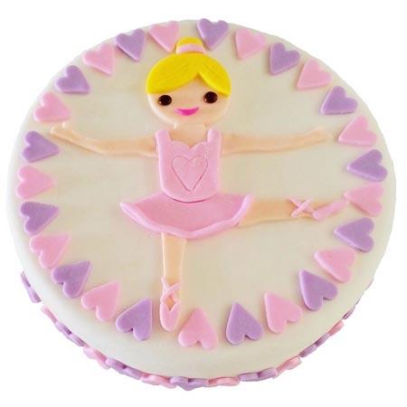 ballet dancer birthday cake DIY cake kit Cake 2 The Rescue