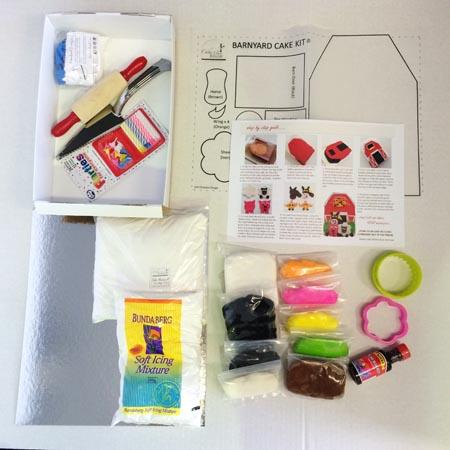 barnyard diy cake kit contents Cake 2 The Rescue