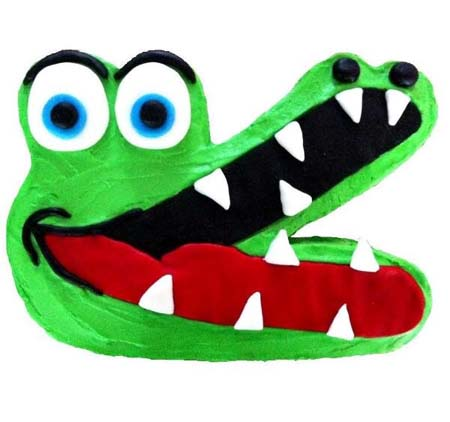 best crocodile jungle themed birthday cake DIY cake kit from Cake 2 The Rescue