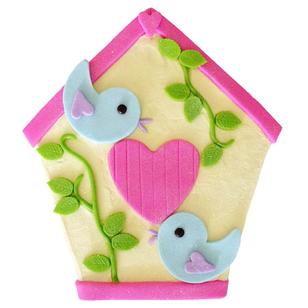 birdhouse baby shower girl cake DIY kit from Cake 2 The Rescue