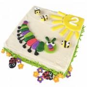 caterpillar cake kit red  600
