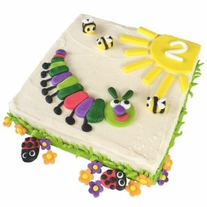 caterpillar cake kit red  600