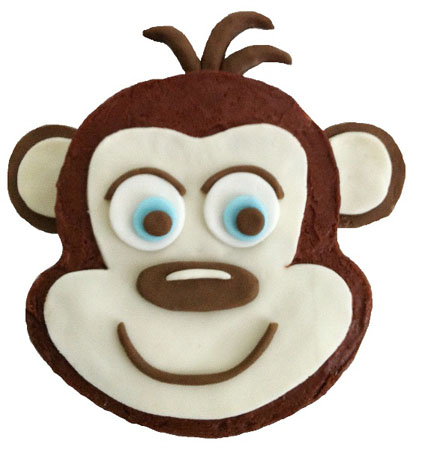 cheeky monkey boy baby shower birthday cake DIY kit from Cake 2 The Rescue