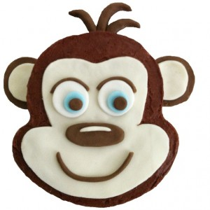 cheeky monkey cake kit
