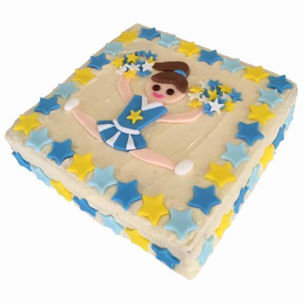 cheerleading diy cake kit square – 600