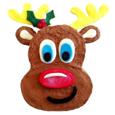 Christmas Rudolph cake DIY kit from Cake 2 The Rescue
