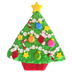 Christmas Tree cake DIY kit from Cake 2 The Rescue