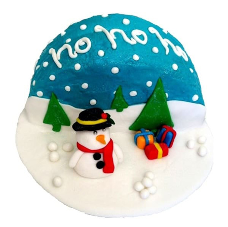 Christmas Wonderland DIY cake kit from Cake 2 The Rescue