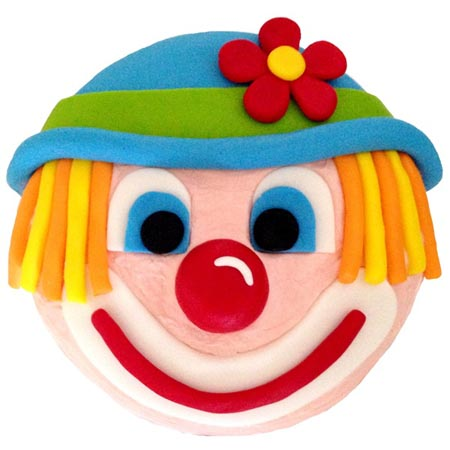 Clown circus themed birthday cake diy cake kit from Cake 2 The Rescue