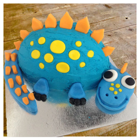 Dinosaur Bob Birthday DIY Cake Kit from Cake 2 The Rescue