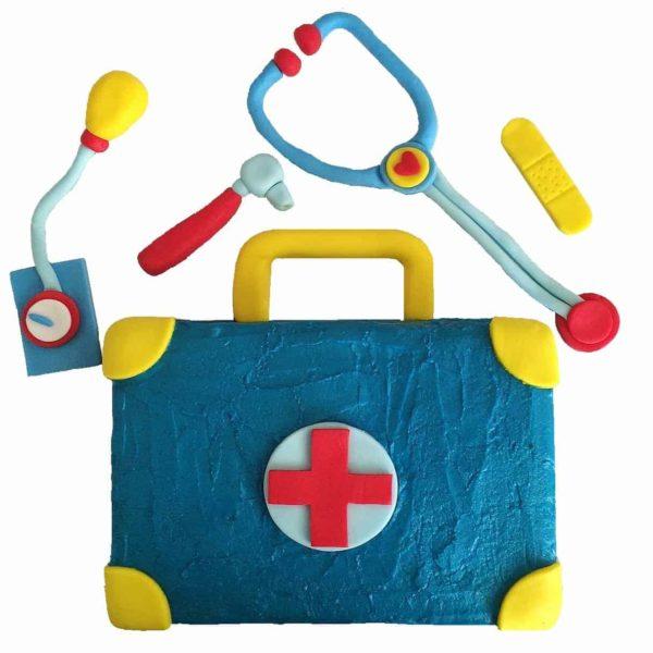 doctors kit cake kit blue