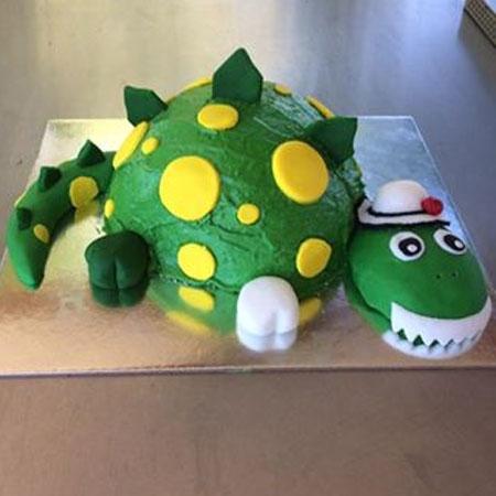 Dorothy Dinosaur Birthday DIY Cake Kit from Cake 2 The Rescue
