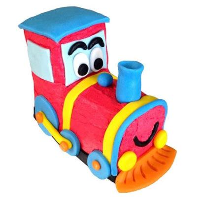 easy toy train birthday boys DIY cake kit from Cake 2 The Rescue