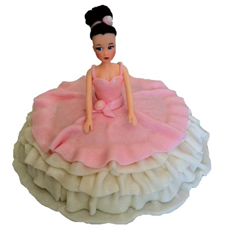 elegant ballerina birthday cake DIY cake kit from Cake 2 The Rescue