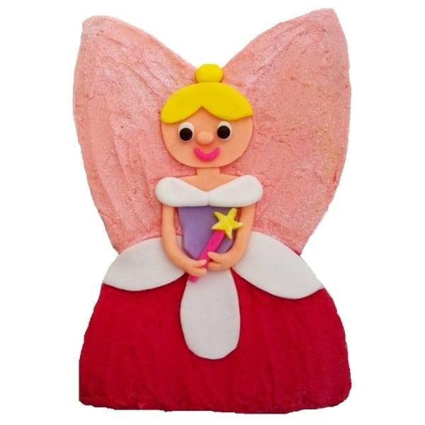 fairy pink birthday girl cake DIY Cak kit from Cake 2 The Rescue