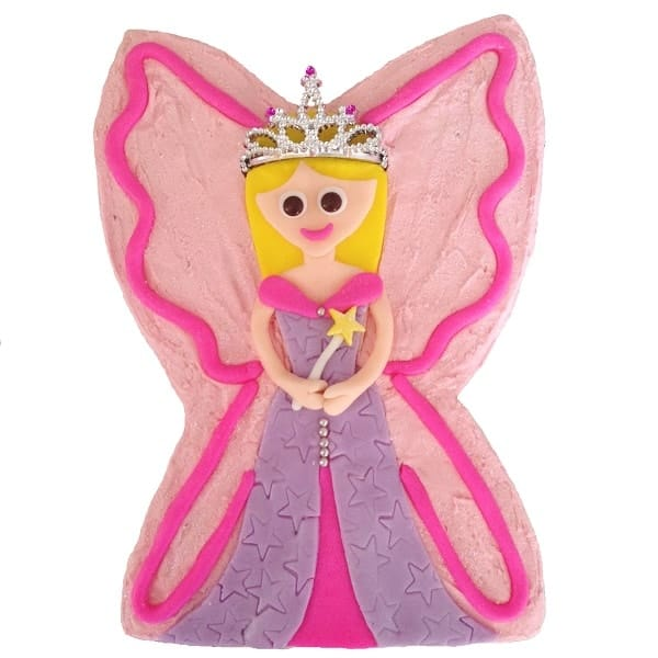 Fairy Princess Cake Kit Girls Birthday Cake Recipe Kit Diy Kit