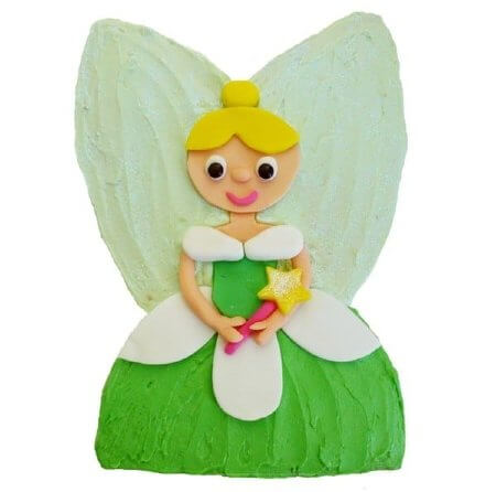 fairy tinkerbell themed birthday cake DIY cake kit from Cake 2 The Rescue