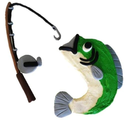 fishing diy cake kit