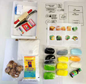 Garbage truck birthday cake kit contents from Cake 2 The Rescue