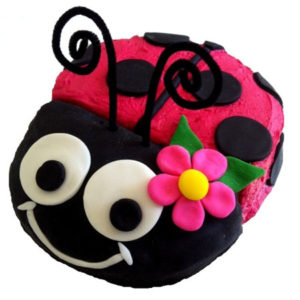 girl ladybug baby shower or birthday cake DIY kit from Cake 2 The Rescue