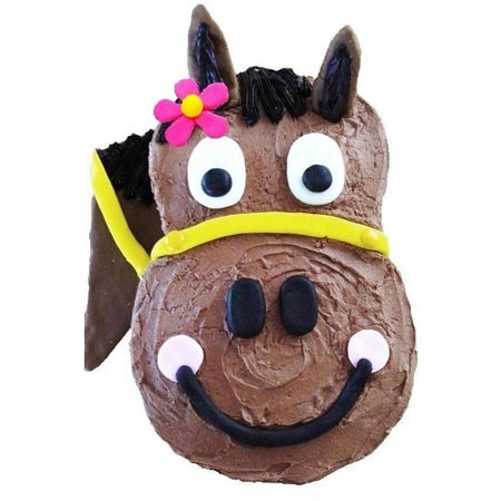 harriet horse birthday girl cake DIY cake kit from Cake 2 The Rescue
