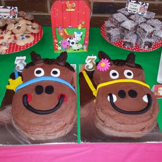 Harriet Horse Cake Kit - Girls Birthday Cake Recipe Kit - DIY Kit