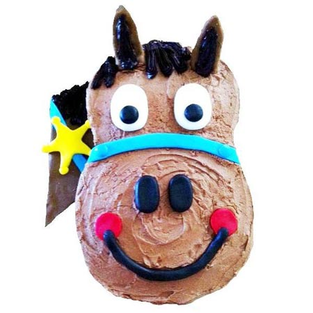 harry horse birthday boy cake DIY Cake kit from Cake 2 The Rescue