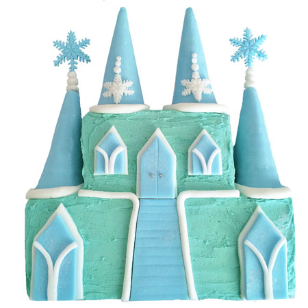 Ice Castle Frozen birthday cake DIY kit from Cake 2 The Rescue