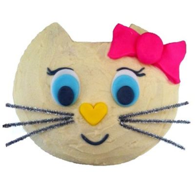 kitty cat birthday girl cake DIY cake kit from Cake 2 The Rescue