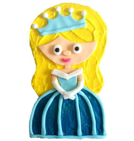 little crystal cinderella inspired princess birthday cake DIY kit from Cake 2 The Rescue