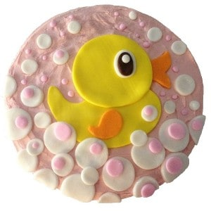 little duck cake kit pink butter icing