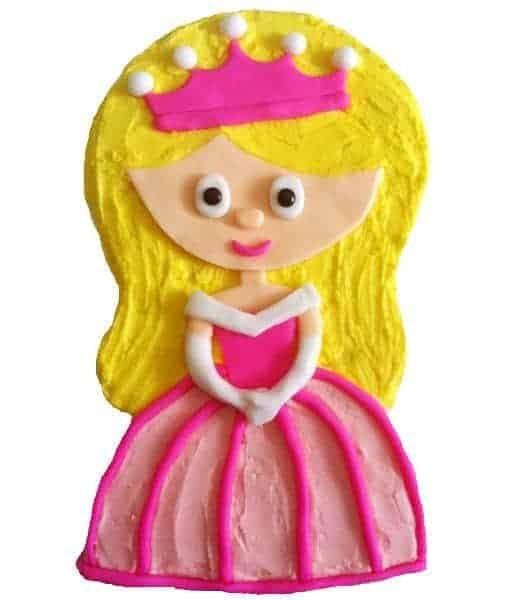 little pink princess cake kit