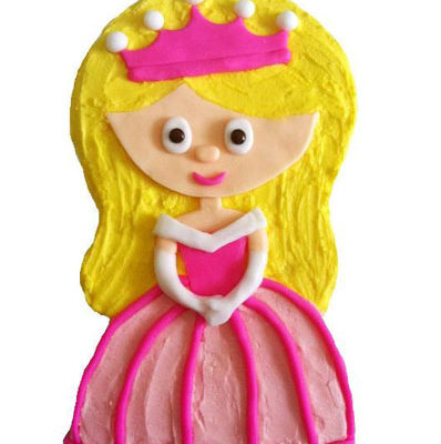 little princess first birthday cake DIY kit from Cake 2 The Rescue