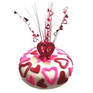 loveheart milestone cake kit