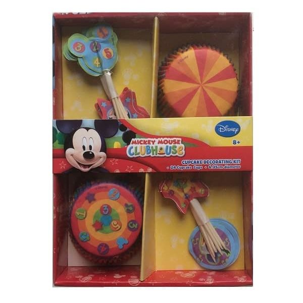 mickey mouse cupcakes and picks set 600