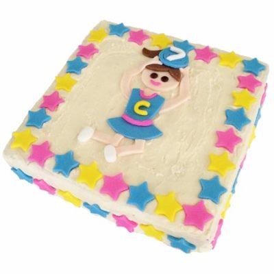 netball girl birthday cake DIY cake kit from Cake 2 The Rescue
